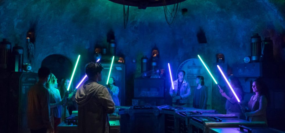 Photo of Savi's Workshop in Galaxy's Edge
