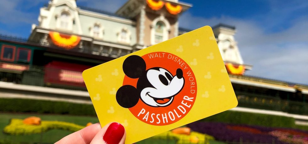 Photo of Walt Disney World Annual Passholder card