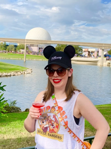 Photo of Disney blogger Magic-Ally Main Street