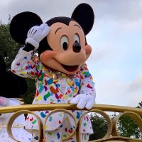 Photo of Mickey in the Move It Shake It MouskeDance It Street Party at Magic Kingdom