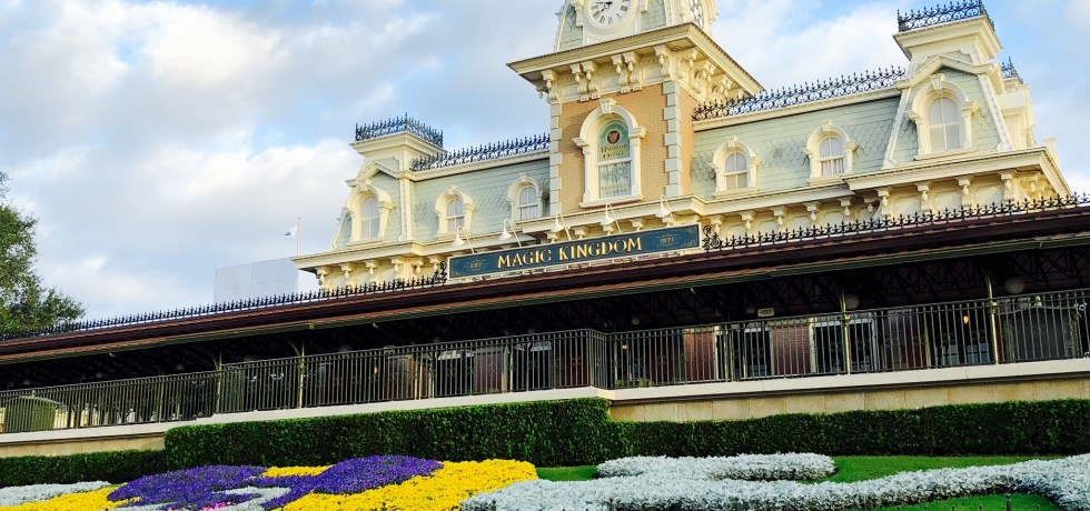 Photo of Magic Kingdom entrance