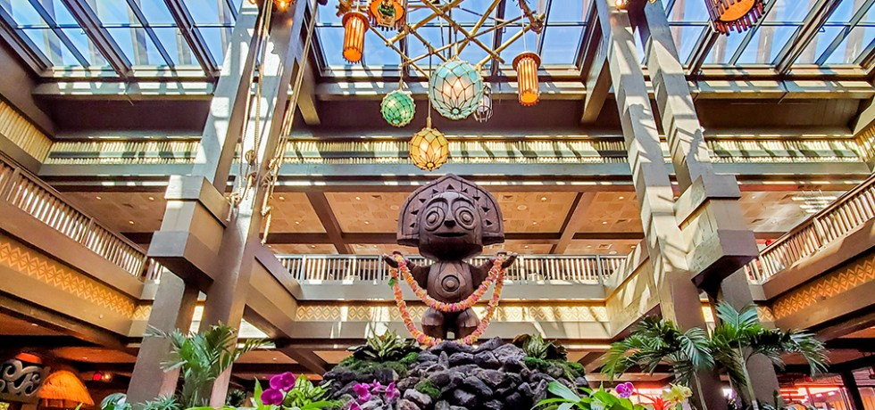 Photo of Polynesian lobby