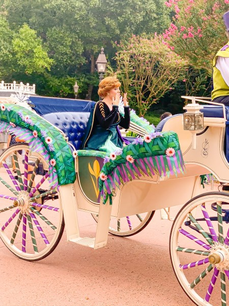 Anna from Frozen at Epcot