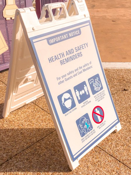 Health and safety procedures at Disney's Pop Century Resort
