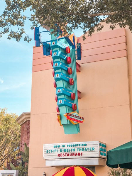 Sci-Fi Dine-In Theater at Hollywood Studios