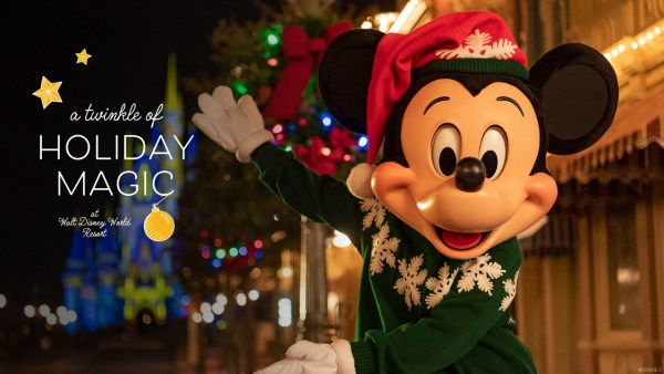 A Twinkle of Holiday Magic at Walt Disney World