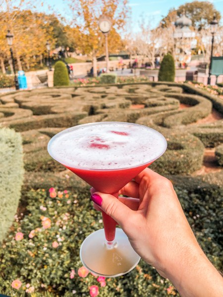 frozen french martini at 2021 festival of the arts