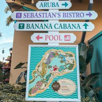 island locations at caribbean beach resort in walt disney world