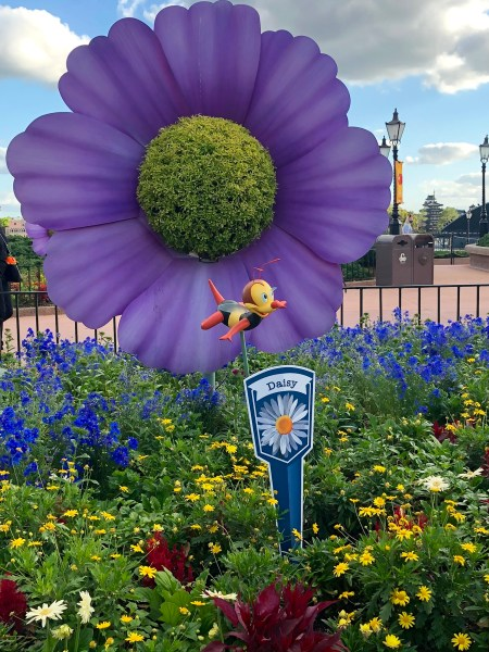 spike the bee scavenger hunt at flower and garden