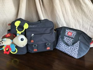 diaper bag baby packing travel vacation tsa security airport cooler toys organization