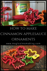 magical mama blog cinnamon applesauce ornaments christmas decor tree ideas how to
