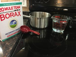 magical mama blog borax snowflakes christmas how to make create arts and crafts winter activities for kids