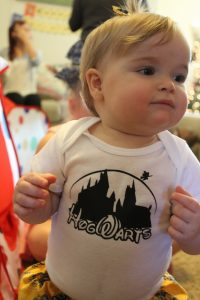 magical mama blog harry potter first birthday party hogwarts onesie