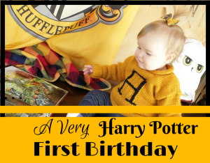 Magical Mama Blog How To Throw A Verry Harry Potter Birthday Party