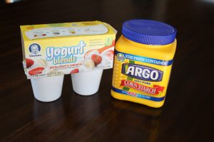 magical mama blog how to make edible cornstarch play doh dough silly putty toddler baby activity