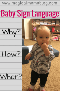 Baby Sign Language Why How When?  How to eliminate early toddler tantrums