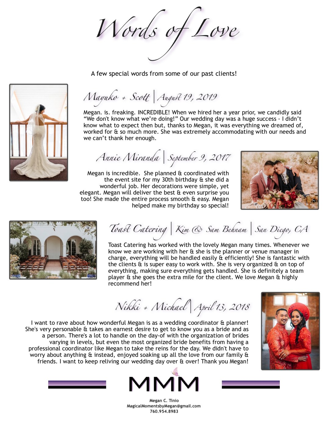 Magical Moments by Megan - Company Information Packet_5