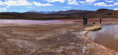 Ruta a Laguna Roja