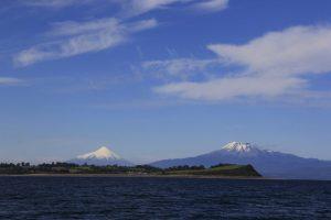 Volcan osorno y calbuco