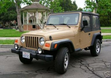 Lorelai's Jeep from Gilmore Girls
