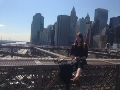 Anna Brooklyn Bridge 2