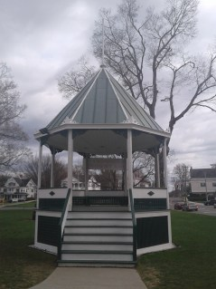The gazebo in New Milford