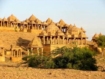 Bada bagh cenotaphs in Jaisalmer, Rajasthan