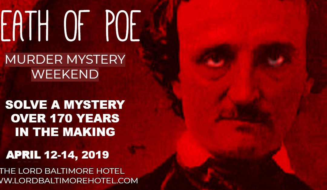 The Death of Poe Murder Mystery in Baltimore