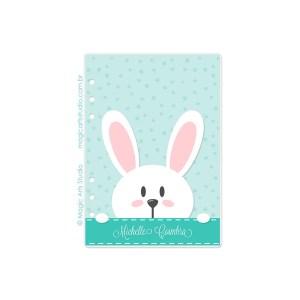 Dashboard Bunny Fundo Verde - tamanho A5