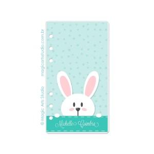 Dashboard Bunny Fundo Verde - tamanho Personal