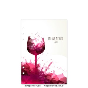 Dashboard Wine - tamanho A5