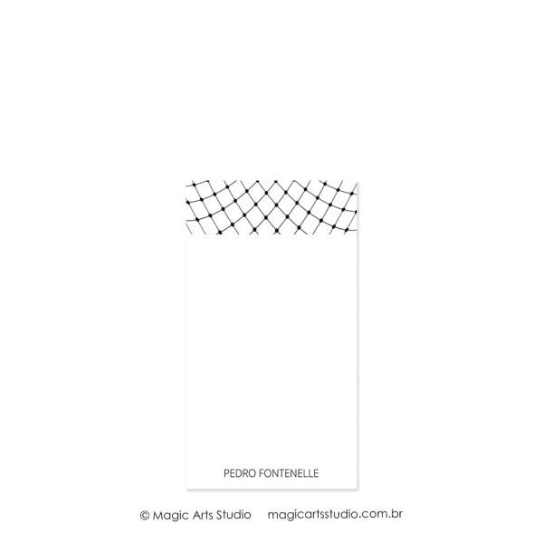 Bloco para anotações tamanho Personal - Abstract Minimalist