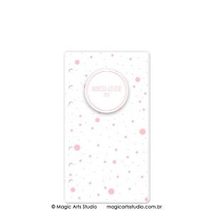 Dashboard Dots Rosa - tamanho Personal