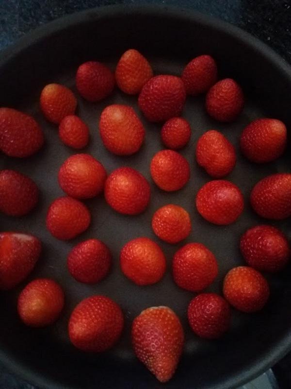 Congelar morangos
