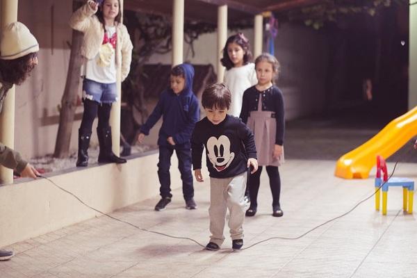 Brincadeiras festa infantil do Mickey