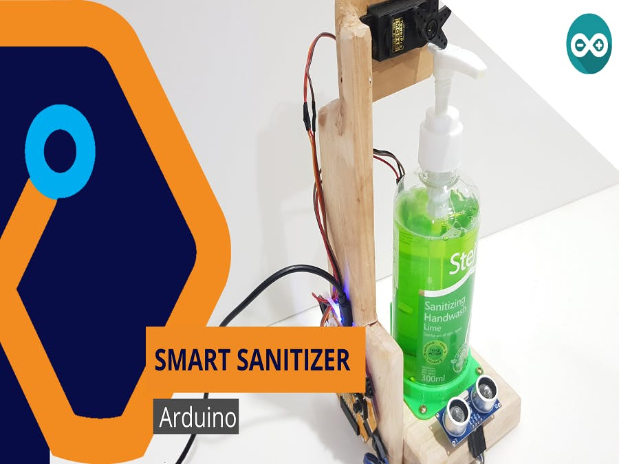Smart Sanitizer with Magicbit
