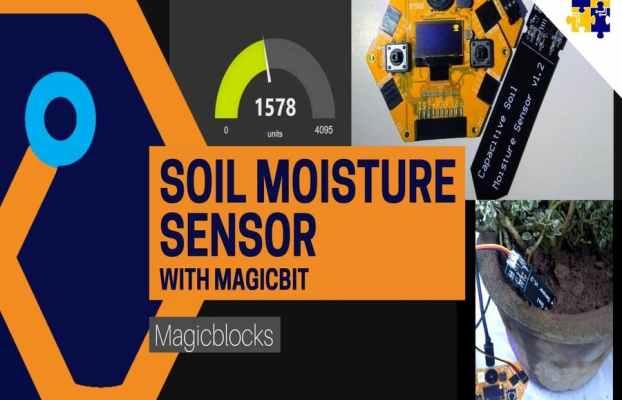 Magicblocks Lesson 11: Soil Moisture Sensor