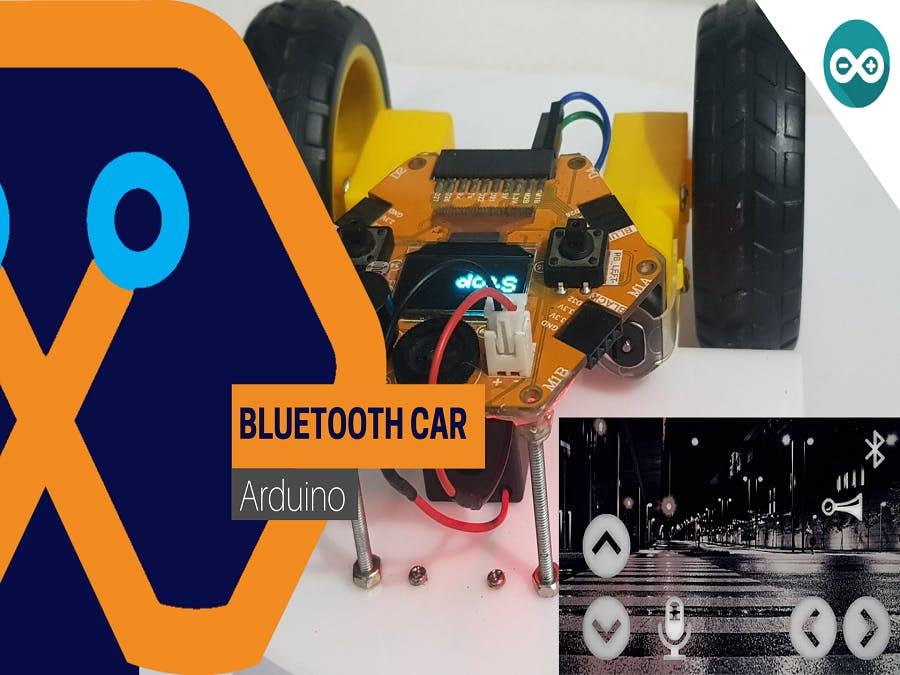 Bluetooth Control Car Using Magicbit
