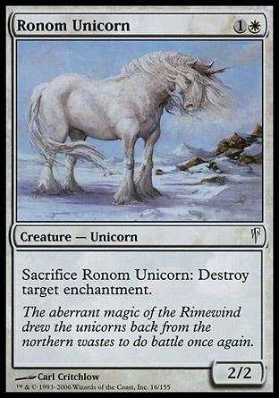 Unicornio de Rónom