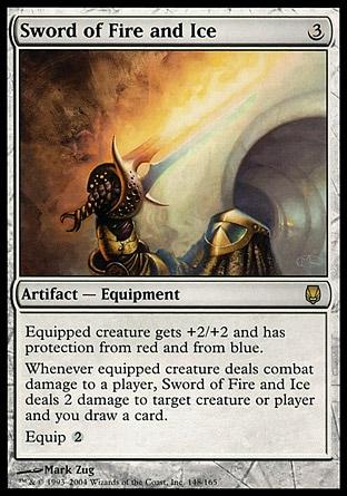 Espada de fuego y hielo