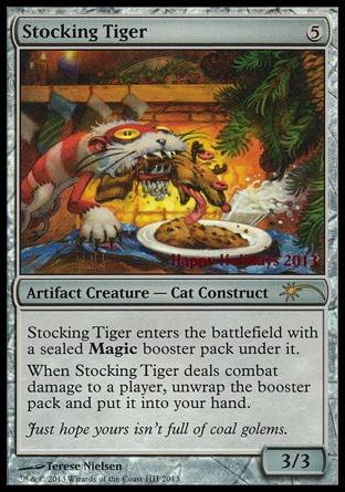 Stocking Tiger