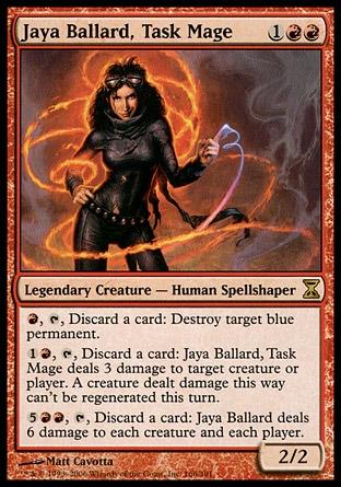 Jaya Ballard, auxiliar de mago