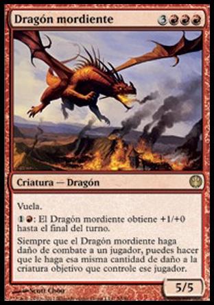 Dragón mordiente