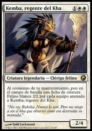 Kemba, regente del Kha