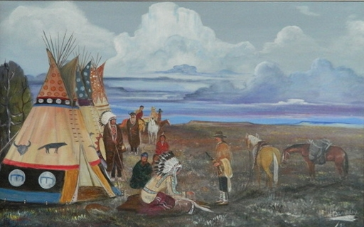 Wanuskewin Heritage Park Henry Beaudry