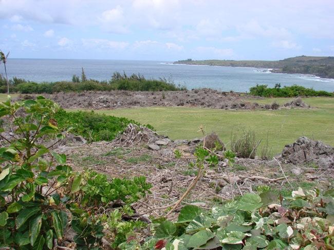 The Hanokahua Burial Site, Kapalua, Maui, Hawaii