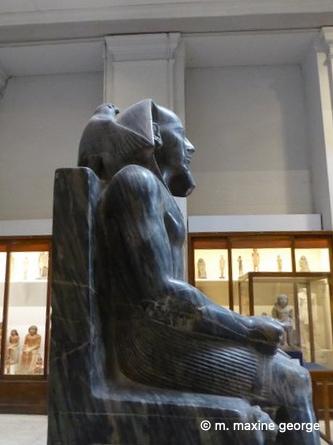 The Pharaoh Chephren or Khafre