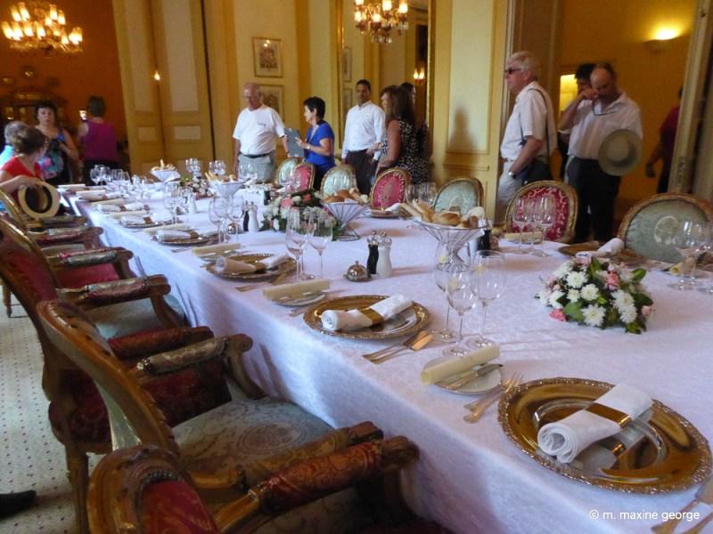 Banquet at Winter Palace, Luxor