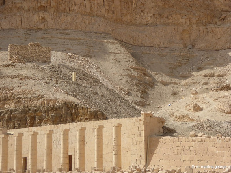 Hathor Columns at the Temple of Hatshepsut