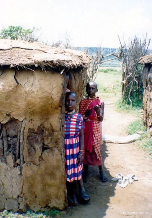 kenya masai children